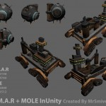 The Mole and Limar inside unity3d