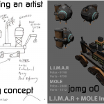 Side by side concept vs finished