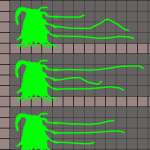 Physically Simulated Tentacles